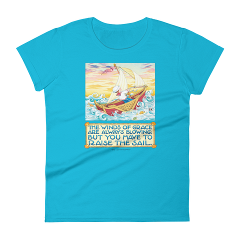 """Winds of Grace"" Women's T-shirt"