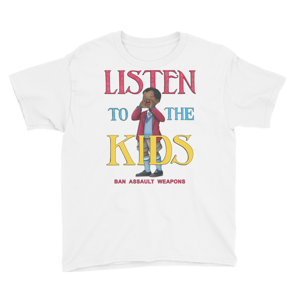"NLA Listen to the Kids"" Youth T-Shirt"