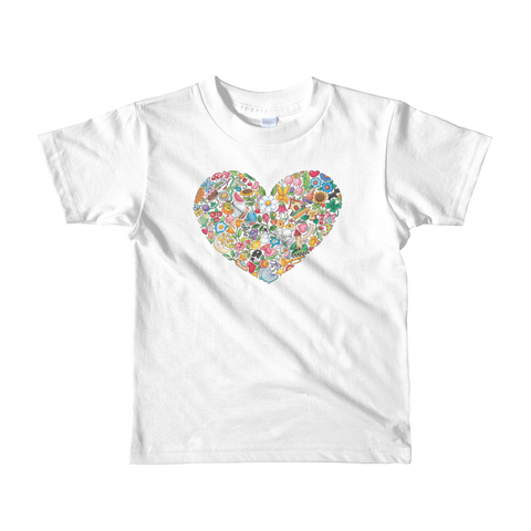 """Lots to Love"" Little Kids T-Shirt"