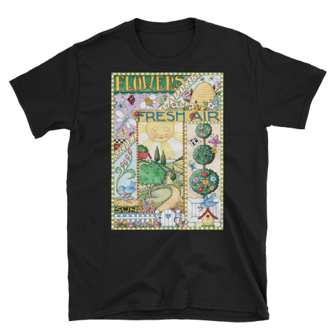 """Flowers Garden Fresh Air"" Unisex T-Shirt"