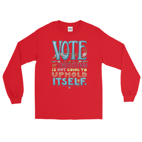 """Vote II"" Long Sleeve Shirt"