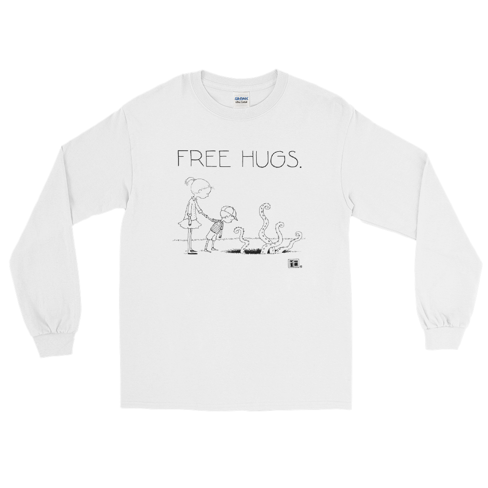 """Free Hugs"" Long Sleeve Shirt"
