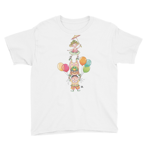 """Circus Tumblers"" Youth T-Shirt"