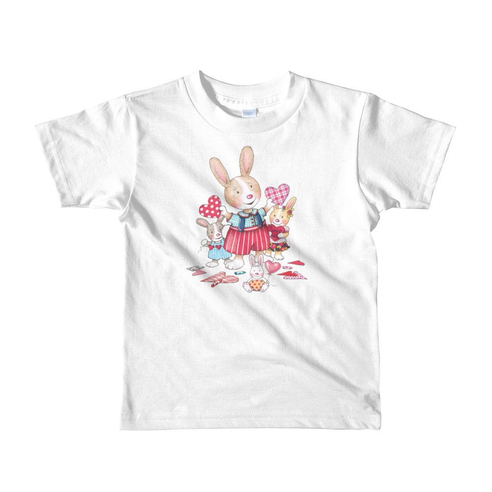 """Bunnies"" Short sleeve kids t-shirt"