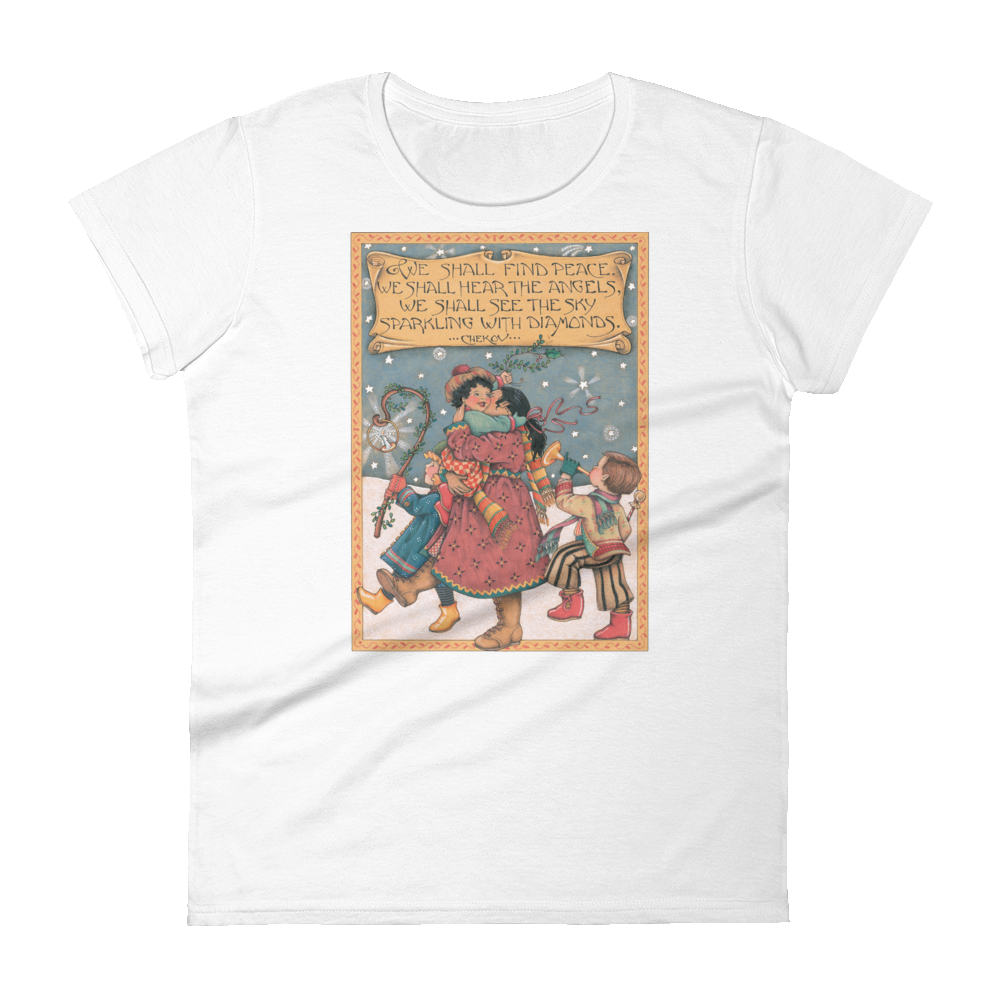 """We Shall Find Peace"" Women's T-shirt"