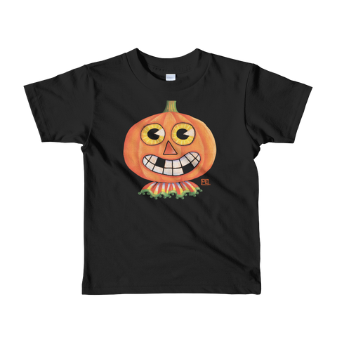 """Pumpkin"" Little Kids T-Shirt"