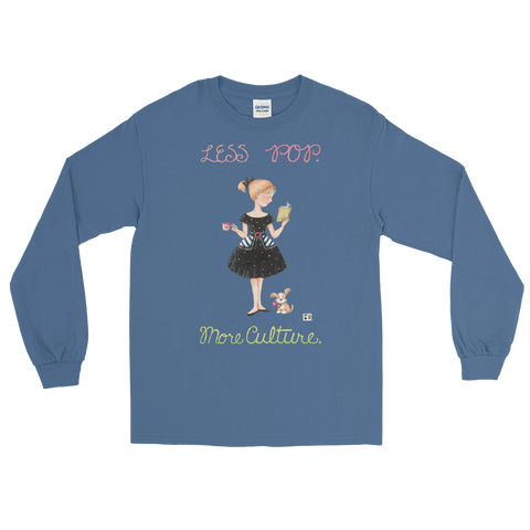 """Pop Culture"" Long Sleeve Shirt"