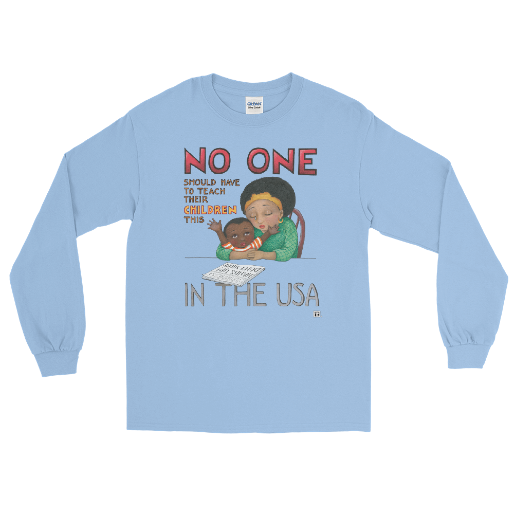 """No One in the USA"" Long Sleeve Shirt"