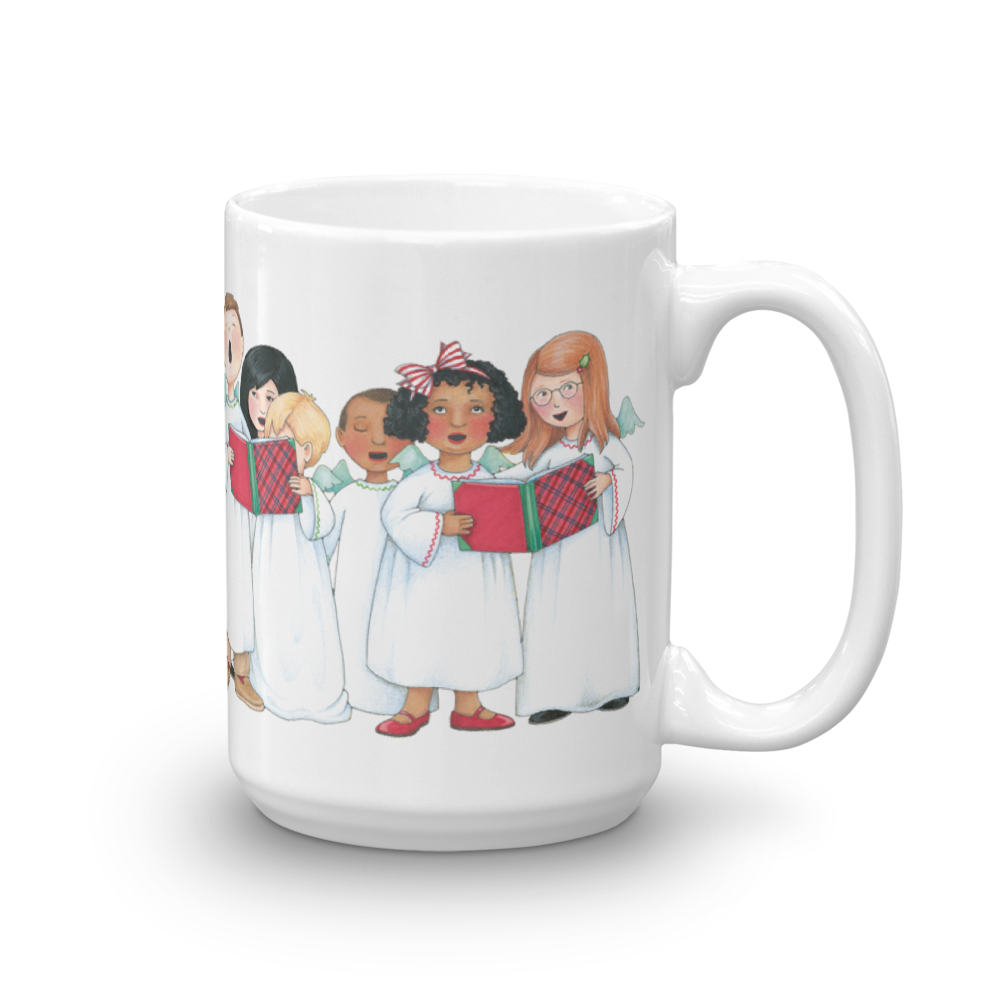 """Holiday Carolers"" Mug"