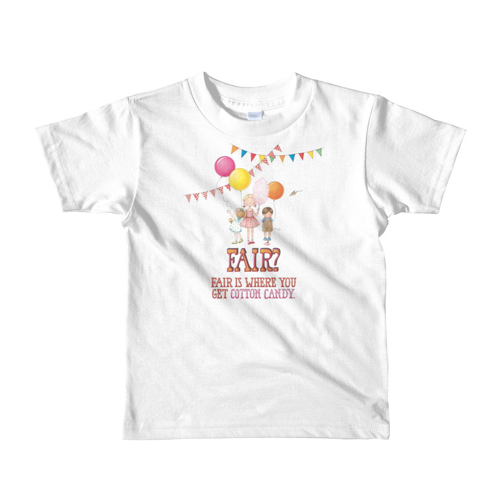 """Fair"" Little Kids T-Shirt"