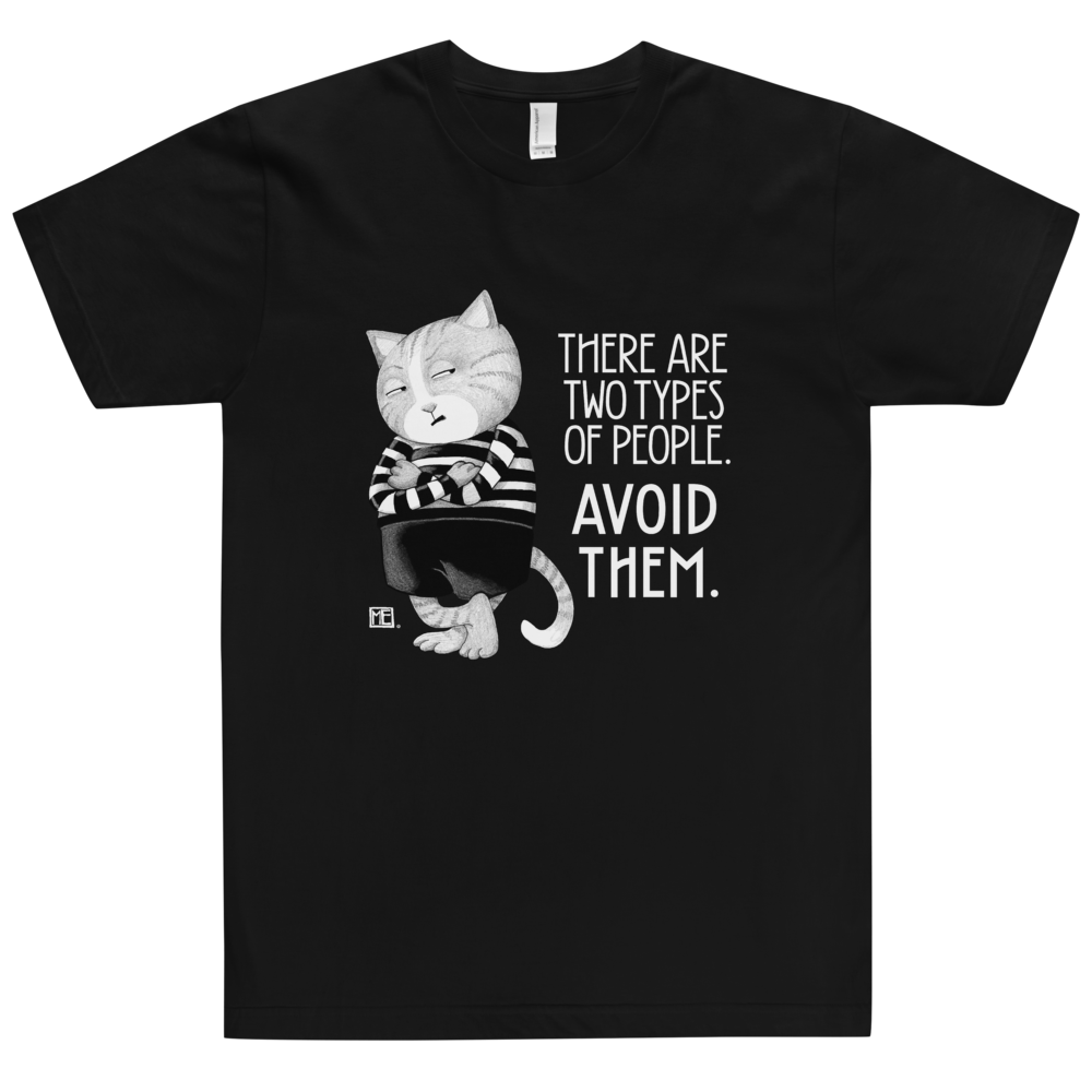 """Avoid Them"" Unisex T-Shirt"