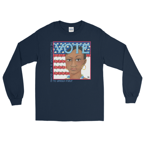 """Vote"" Long Sleeve Shirt"
