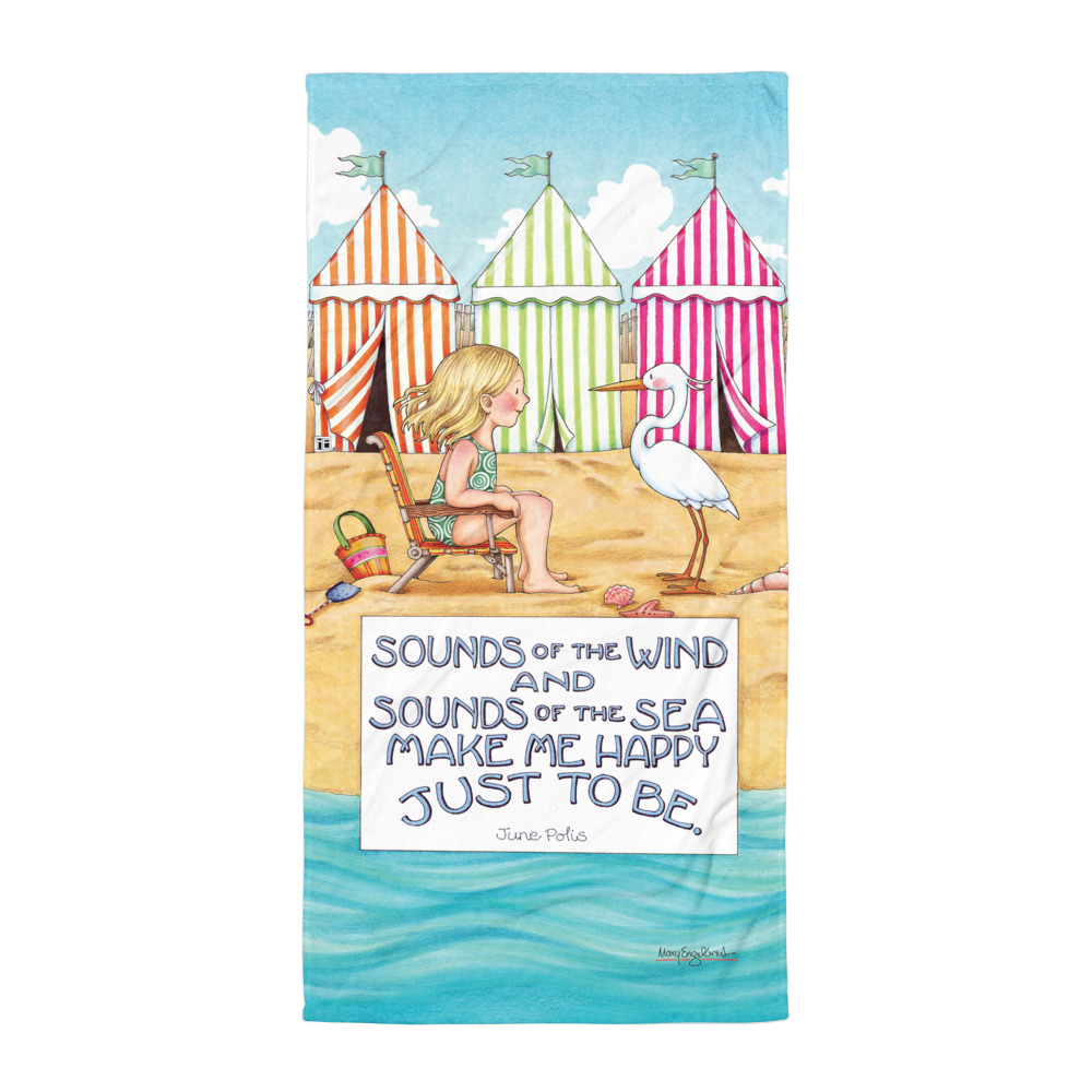 Sounds of the Sea Towel