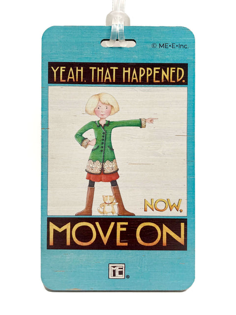 Move On Bag Tag