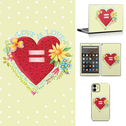 Phone or Tablet Case/Skin: Love is Love
