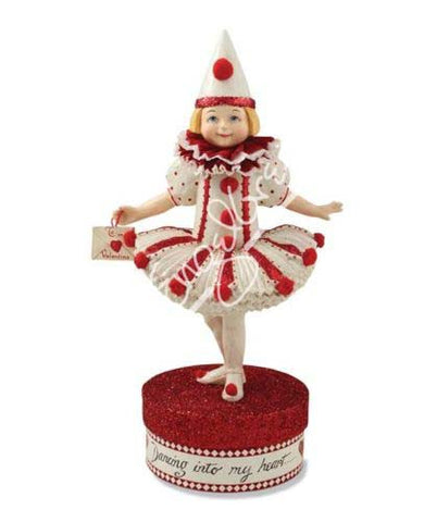 Dance Into My Heart Valentine Figurine / Container
