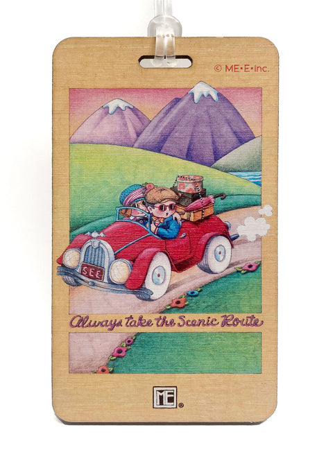 Scenic Route Bag Tag