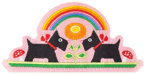 Scotties Rainbow Patch Set