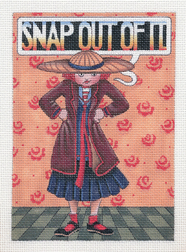 Needlepoint Canvas: Snap Out Of It