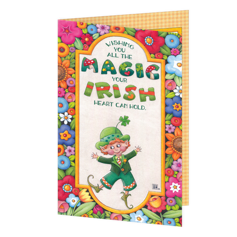Wishing You All the Magic St. Patrick's Day Greeting Card