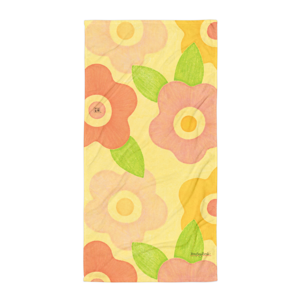 Summer Flowers Towel