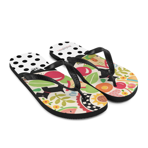 Mary's Icons Flip-Flops