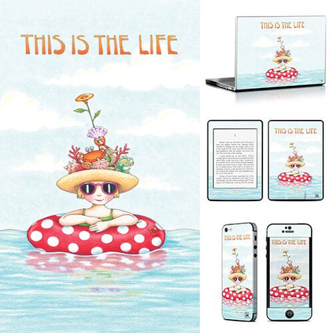 Phone or Tablet Case/Skin: This Is The Life