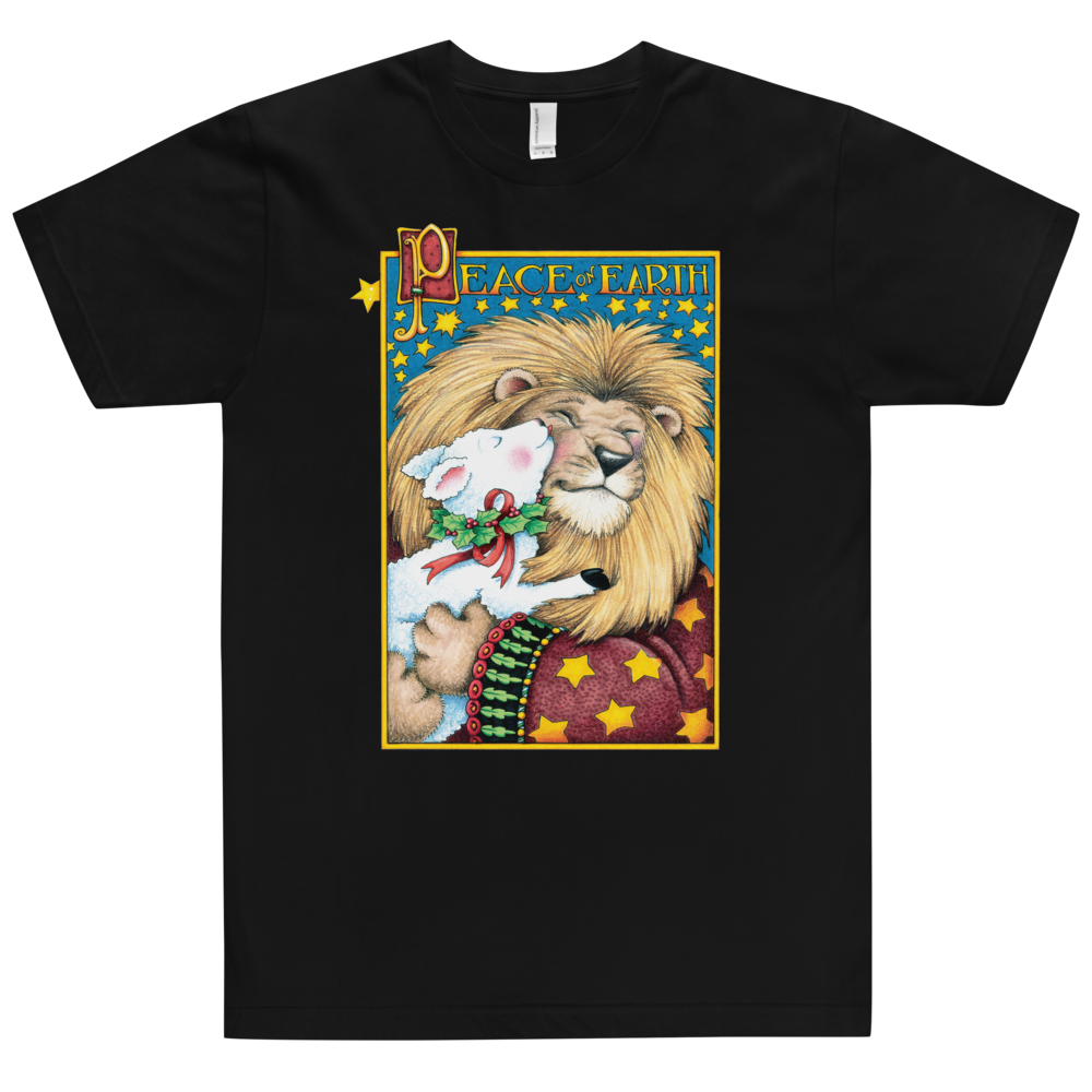 """Lion & Lamb"" Unisex T-Shirt"