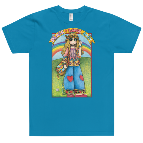 """Hippie Chick"" Unisex T-Shirt"