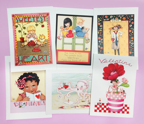 Valentine Postcards, series 2
