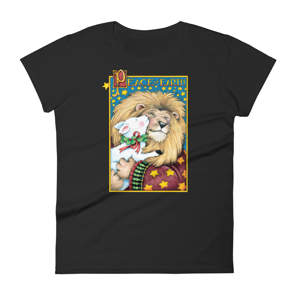 """Lion & Lamb"" Women's T-shirt"