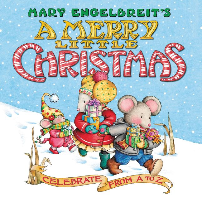 A Merry Little Christmas Book, Board Book Edition