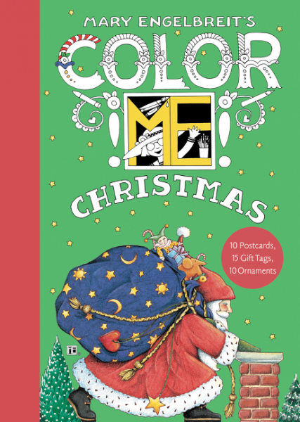 Color ME Christmas Book of Postcards