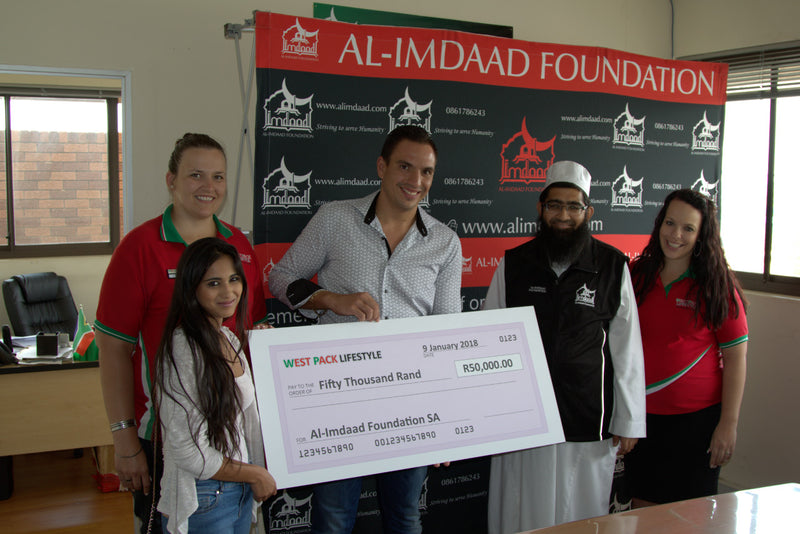 What Al-Imdaad Foundation will do with their R50,000.00 donation