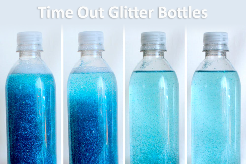 Glitter Time Out Bottles