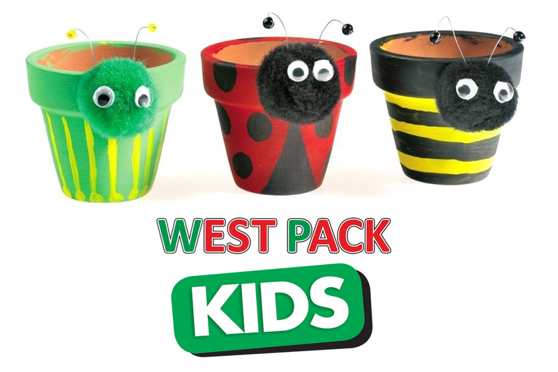 West Pack Kids: Make Easy Garden Pots