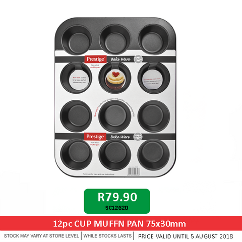 Muffin Pan Cup promotion