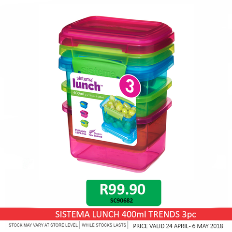 Sistema Lunch Trend Boxes