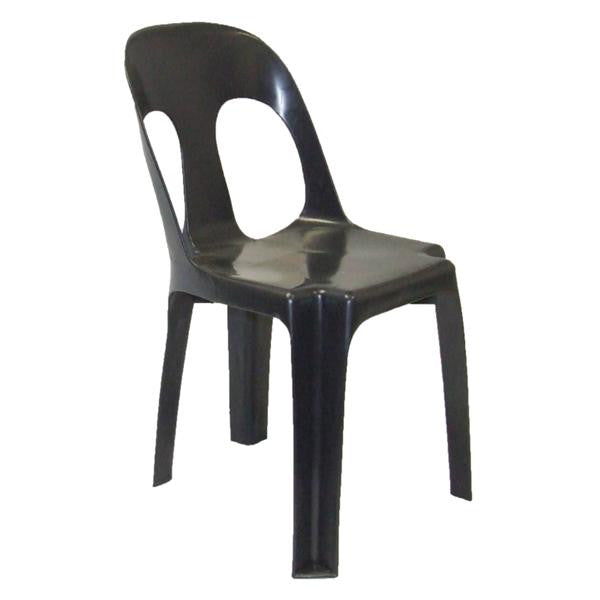 HOLA CHAIR BLK RECYCLED