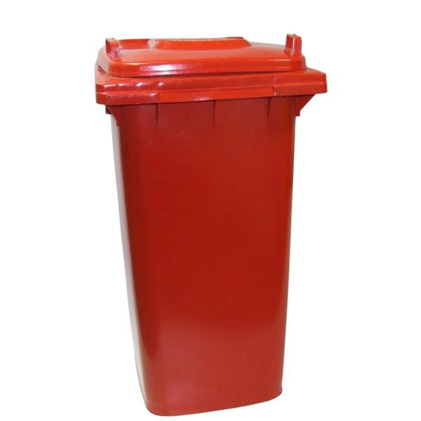 DUSTBIN ON WHEEL RED