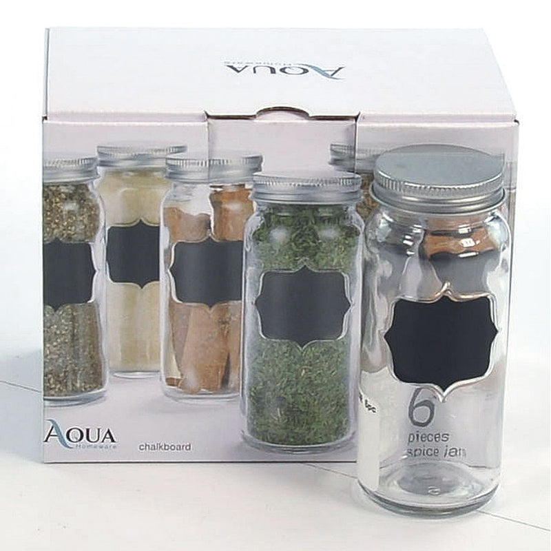 AQUA SPICE JAR 6pc