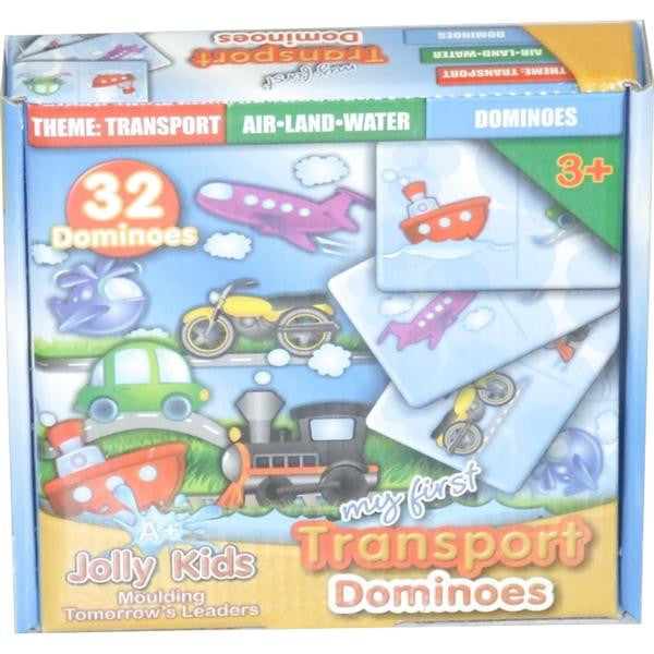 TRANSPORT 32pc DOMINOES