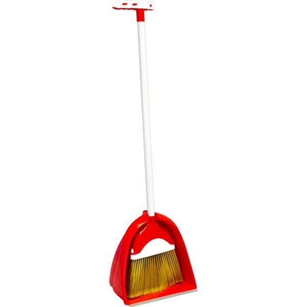 JUMBO BRUSH & DUSTPAN