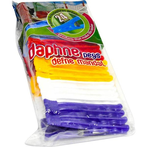 PLASTIC PEGS 24pc