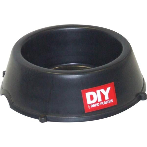 H/D DOG BOWL BLK
