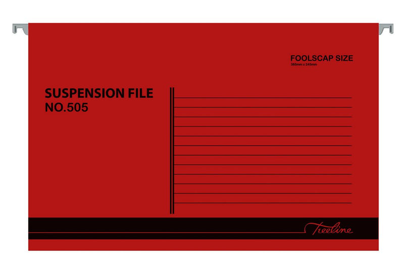 Suspension File Red
