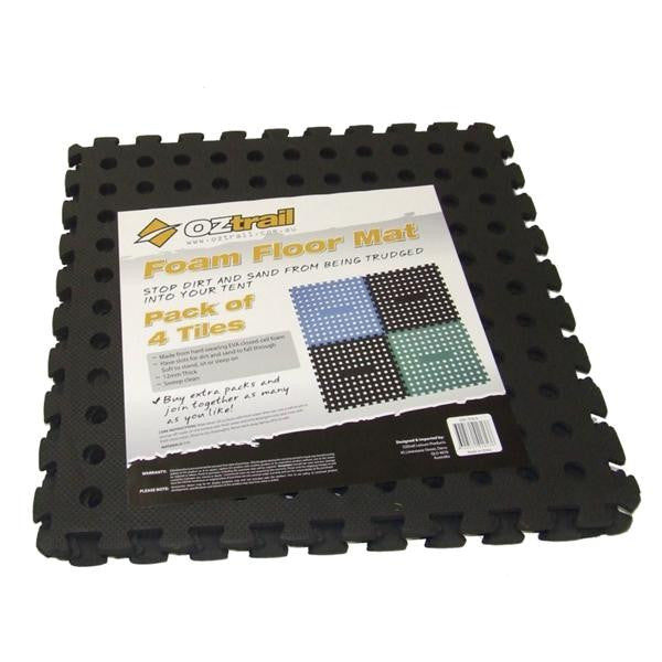 FOAM FLOOR MAT 4pc