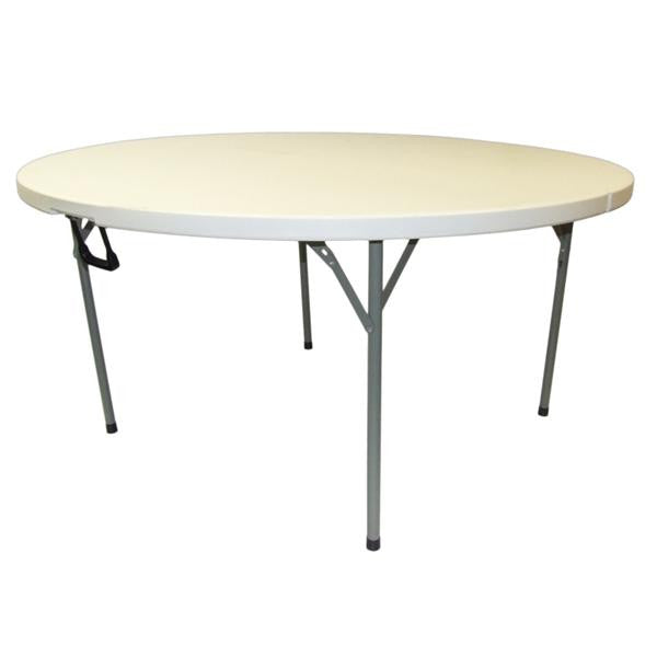 ROUND PLASTIC TABLE 1800mm