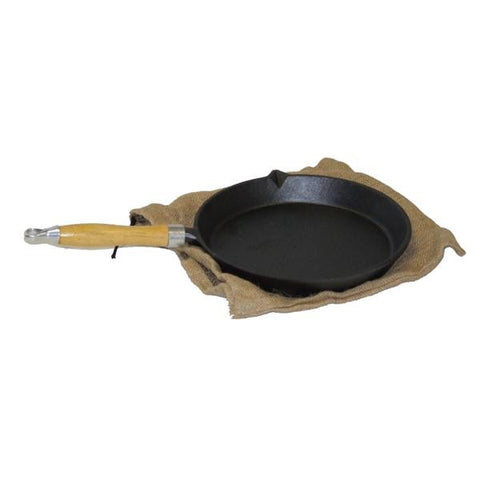 25cm PAN & WOODEN HANDLE