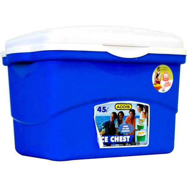 45lt ICE CHEST BL